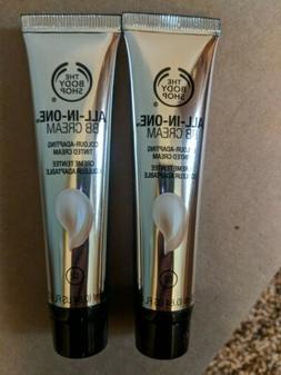 The Body Shop 02 Medium Skin Tones All In One BB Cream 2 pac