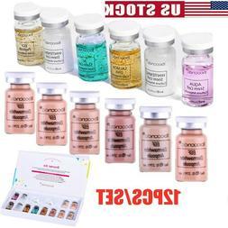 12-BB Cream Foundation Starter Kit Mix Dermawhite BB Whiteni