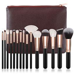 15Pcs Pink Makeup Brushes Set Pincel Maquiagem Powder Eye Ka