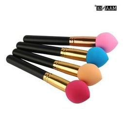 1pc New fashion cosmetic spong handle puff BB Cream Cosmetic
