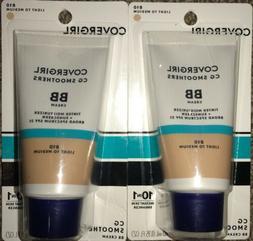 *2* CoverGirl CG Smoothers BB Cream Moisturizer Sunscreen 81