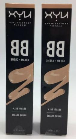 *2 Pack* NYX BB Beauty Balm Cream - BB Cream - BBCR03 Golden