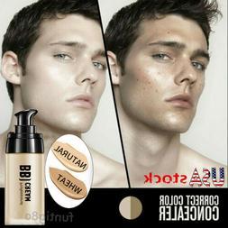 2020 Men BB Cream Concealer Moisturizing Whitening Face Foun