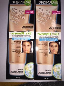 2PACK GARNIER Miracle Skin Perfector BB Cream Skin Medium Da