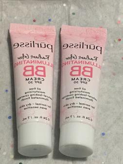 2X Purlisse Radiant Glow Illuminating BB cream Spf 30 in MED