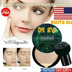 2X SUNISA Air Cushion Mushroom Head CC Cream BB Cream Concea