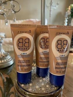3 Pack Rimmel BB Cream 9-In-1 Skin Perfecting  Medium Dark 1