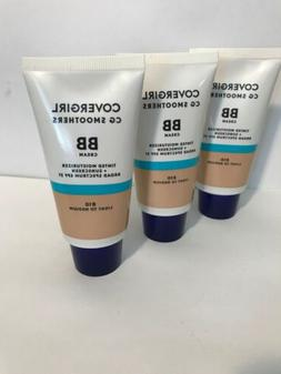 3 Pack CoverGirl CG Smoothers BB Cream, Light To Medium 810