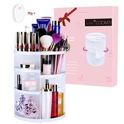 EMOCCI Makeup Organizer 360 Rotating Cosmetics Storage Box D
