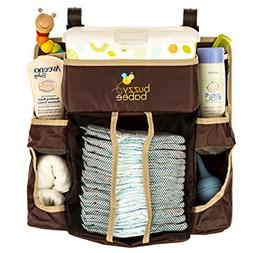 Buzzy Babee Diaper Change Organizer, Brown/Coffee Perfect Di