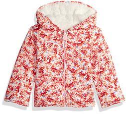 Joules Baby Girls Cosette Reversible Fleece, Cream Ditsy, 0-