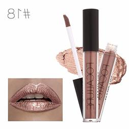 Lipstick Matte Red Lips Makeup Lip Gloss Tint Waterproof Gol