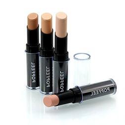 LtrottedJ Makeup Natrual Cream Face Lips Concealer, Highli