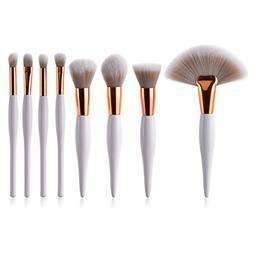 Makeup Brushes, Makeup Brush Set 8 Pcs, Premium Face Eyeline