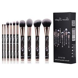 Marble Makeup Brushes Eyeshadow Professional Makeup Brush Se