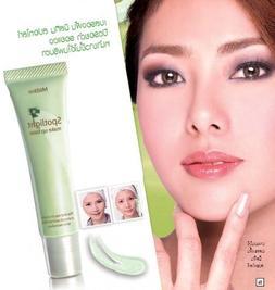 Mistine Spotlight Cream Make up Base Brightens Skin #Green 1