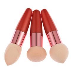 Usstore 3PC Makeup Brush Cosmetics Make Up Multipurpose Liqu