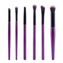 Usstore 6PC Cosmetic Makeup Brush Wooden handle Beauty Eyesh