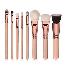 Usstore 8PC Makeup Brushes Multipurpose Tool Cosmetic Cream