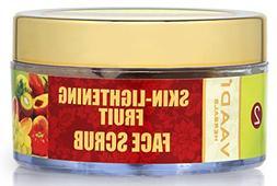 Vaadi Herbals Skin-Lightening Fruit Face Scrub, Herbal Cream