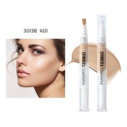 Waterproof moisturizing Concealer Pen brightening Facial Lip