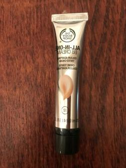 the body shop all in one bb cream 02 colour adapting tinted