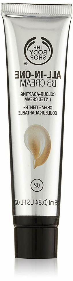 The Body Shop All-in-One BB Cream for Unisex  0.84 Ounce