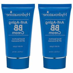 Hydroxatone Anti-Aging BB Cream, 1.5oz - Pack of 2