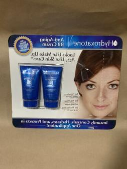 Hydroxatone Anti Aging BB Cream with SPF 40 - 2 Pack