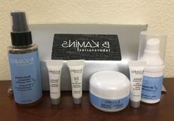 B. Kamins Sample Set Of 6! Replenishing Cleanser, Eye Cream,