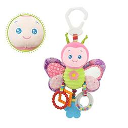 Baby Hanging Rattle Toys, Iuhan Baby Toys Soft Hanging Rattl