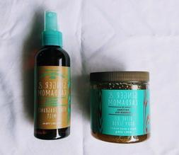 Bath & Body Works Ginger & Cardamom Olive Oil Body Scrub Fin