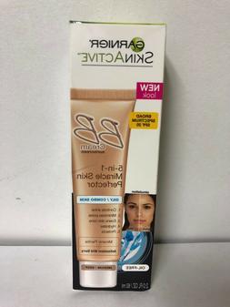 Garnier BB Cream 5 in 1 Miracle Skin Perfector, Oily Combo S