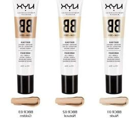 NYX BB Cream Beauty Balm - BBCR - Choose Your Color New Seal