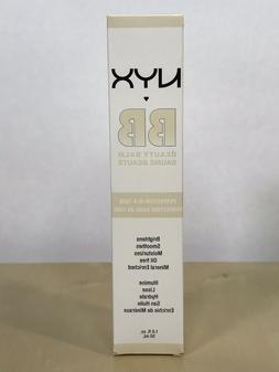 NYX BB Cream Beauty Balm Nude BBCR 01 Oil Free Mineral Enric