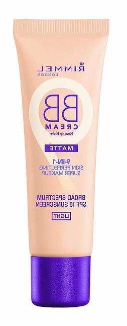 Rimmel BB Cream Matte 9-in-1 Skin Perfecting Super Makeup ~