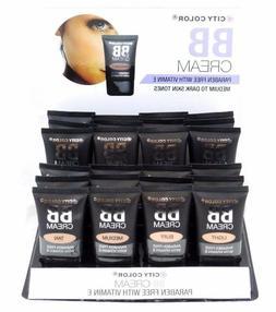 City Color BB Cream  Paraben Free with Vitamin E-Light, Medi
