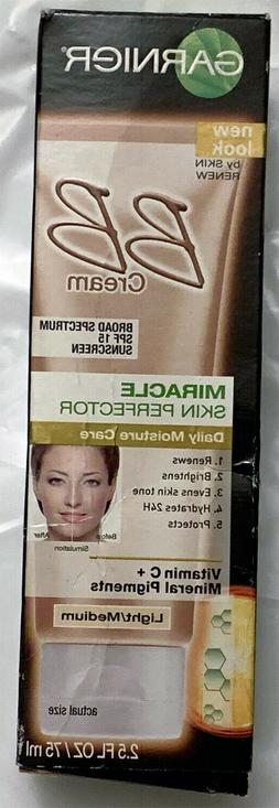 Garnier, BB Cream, Skin Renew, Light / Medium, Damaged Box
