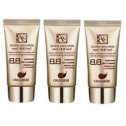 Bergamo BB Snail Cream 50ml,3pcs, All Skin Types,whitening W
