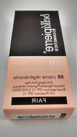 Bellapierre BB Cream Derma Renew, Fair, Oil-Free SPF 15 NIB