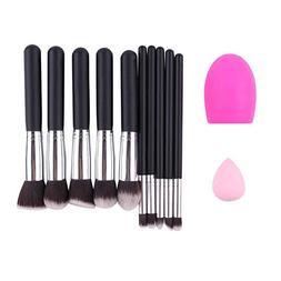 Makeup Brushes Set, 12 Pcs Professional Kit for Eye, Eyeshad