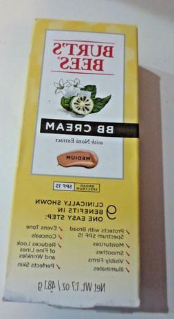 Burt's Bees BB Cream W/ Noni Extract Medium-SPF 15 - .exp 6/