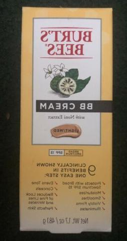 Burt's Bees BB Cream W/ Noni Extract Light/ Medium -SPF 15 -
