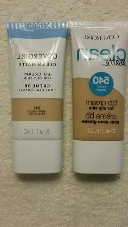 Covergirl Clean Matte BB Cream 1 FL.OZ Choose Shade
