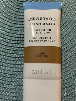 Covergirl Clean Matte BB Cream For Oily Skin - 560 Deep New