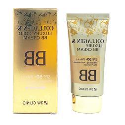 3W CLINIC Collagen & Luxury Gold BB Cream 1.69Oz SPF50+/PA++