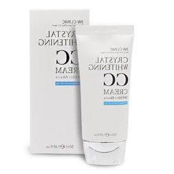 3W Clinic Crystal Whitening CC Cream 1.76Oz SPF50+/PA+++ Moi