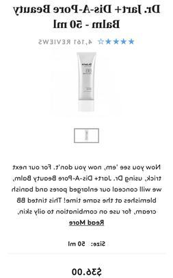 Dr.Jart+ Dis-A-Pore Beauty Balm BB Cream SPF 30 50 mL/1.7oz