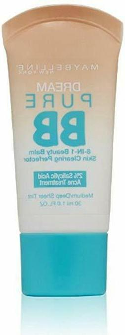 Maybelline New York Dream Pure BB Cream 8-in-1 Skin Clearing