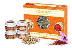 Vaadi Herbals Facial Kit - Saffron-Sandal Facial Kit With Sa